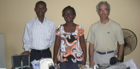 Don de matériel en république Centrafricaine