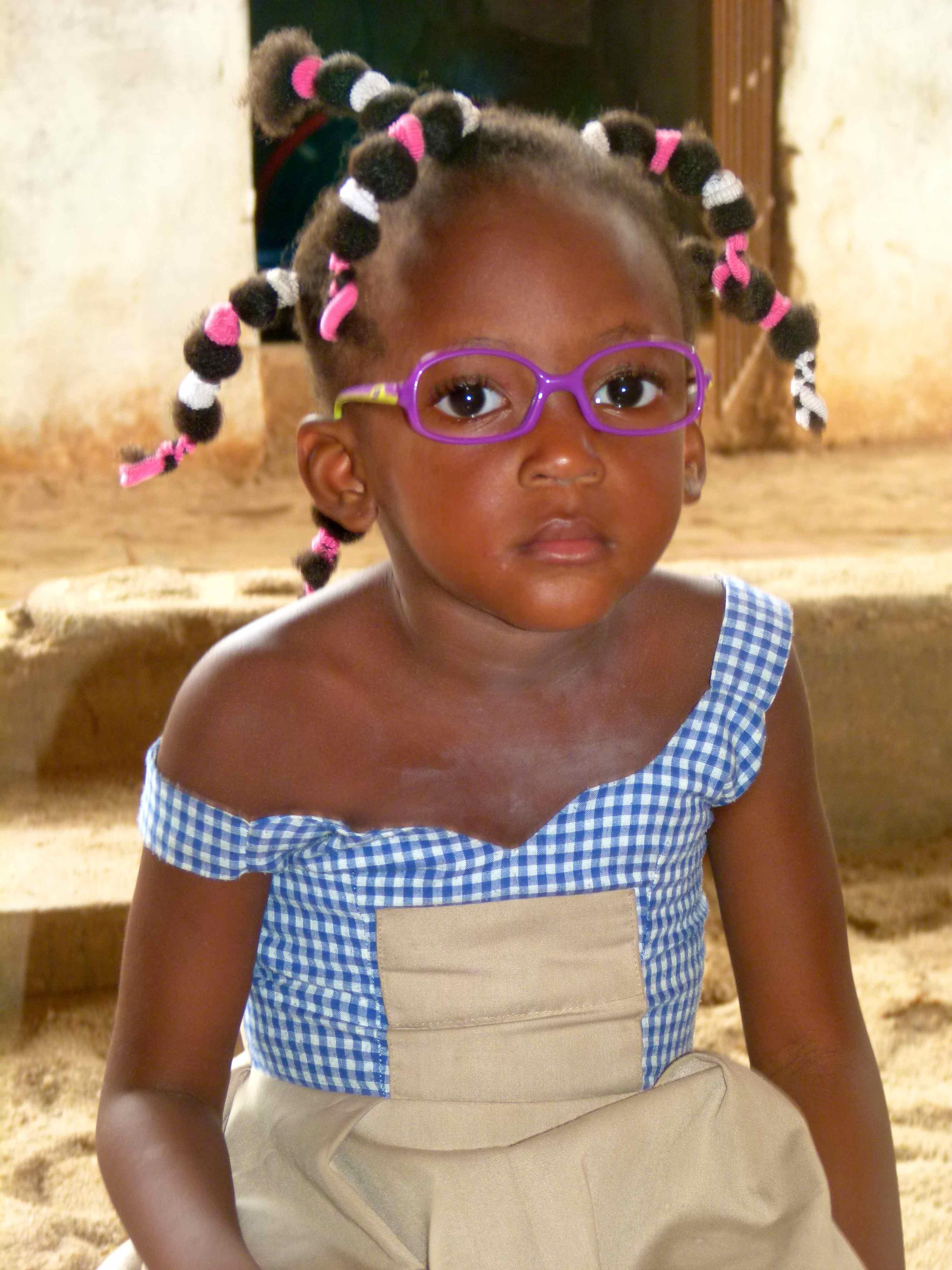 Dépistage dans une école maternelle de Porto-Novo (Bénin 2014)
